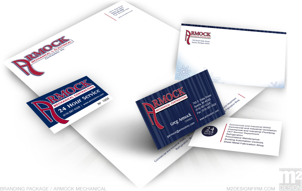 Armock Mechanical Branding