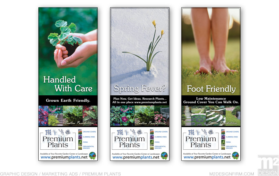Premium Plants Marketing Campaign
