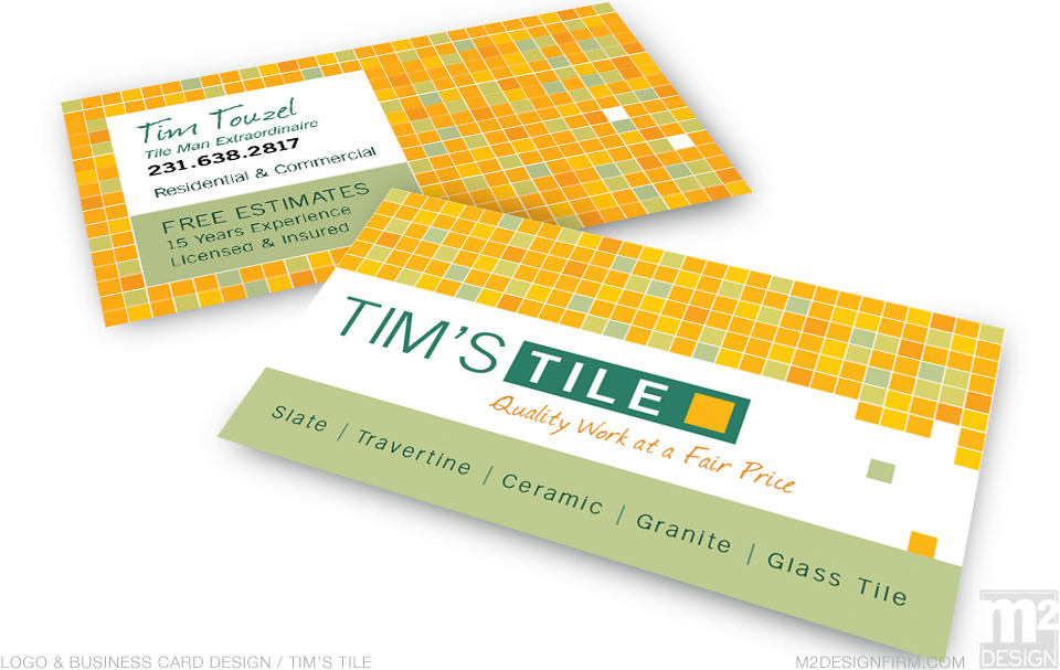 Tim's Tile Business Card