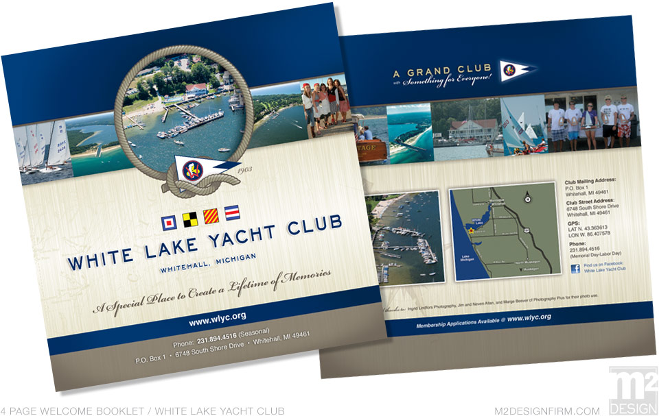 Yacht Club Booklet