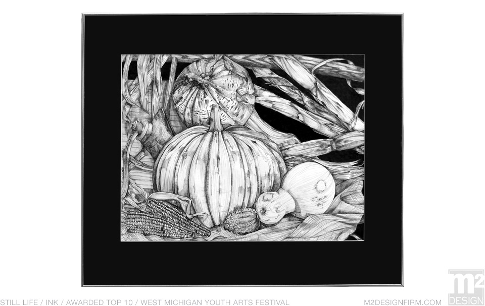 Pen & Ink Still LIfe