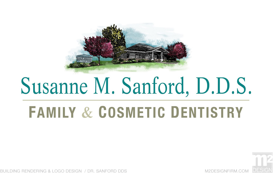 Dentist Office Rendering & Logo