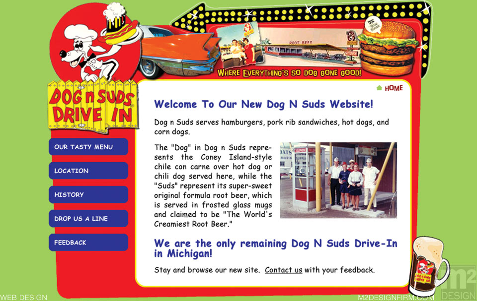 Dog n Suds Web Design
